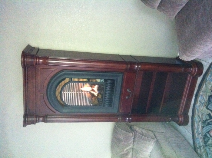 Athens Wall Tower Mantel With Arched Ventless Fireplace