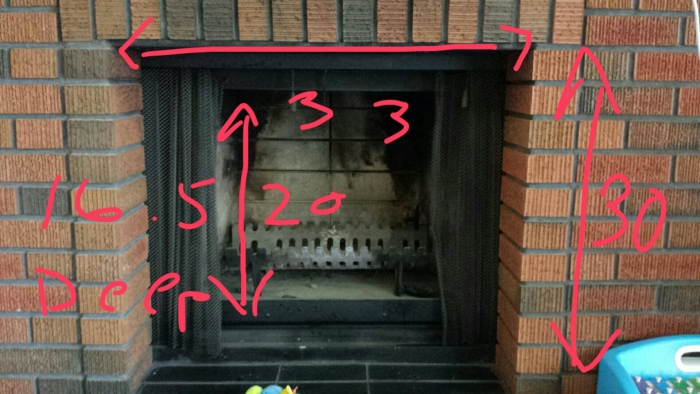 ... add firebrick panels, etc) before I put in a chimney liner and insert?  I am located in Canada, with average minimum temperatures around -10 C (14  F). - Modern, Affordable, And Stylish Fireplace Inserts