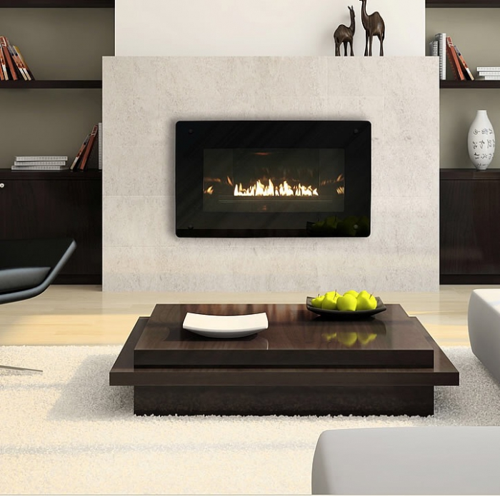 Empire Loft Vent-Free Zero-Clearance Gas Fireplace with Millivolt Controls  - 10,000 BTU - Empire Loft Vent-Free Zero-Clearance Gas Fireplace With Millivolt