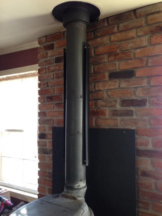 - HomeSaver Single-Wall Stovepipe Shield