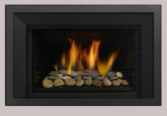 ... gas fireplaces that use concrete balls or other types of fixtures for  viewing burning flames. I attach stones, balls and straight flame with  clever wood ... - Vented Gas Fireplace Inserts & Gas Stove Inserts